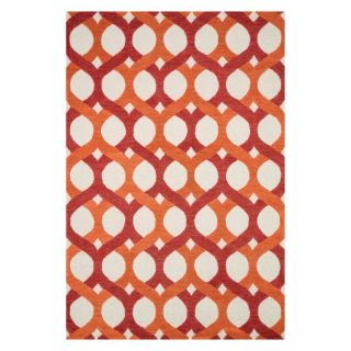 Loloi Weston Area Rug   Red / Orange   WESNHWS04REOR5076, 5 x 7.48 ft.