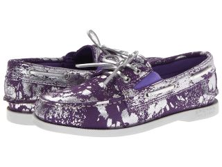 Sperry Top Sider Kids A/O Gore Girls Shoes (Purple)