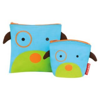 Zoo Reusable Sandwich and Snack Bag Set   Dog by Skip Hop