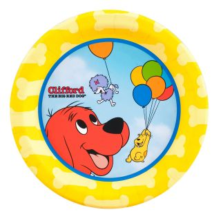 Clifford The Big Red Dog Dessert Plates