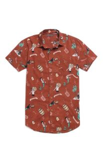 Mens Vanguard Shirt   Vanguard Rum Runners Short Sleeve Woven Shirt