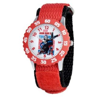 Kids Marvel Iron Man Wristwatch   Red