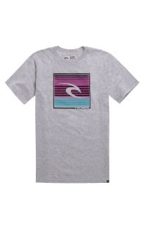 Mens Rip Curl Tee   Rip Curl Travel Time Heather T Shirt