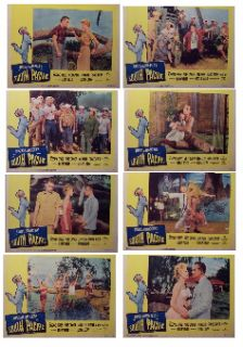 South Pacific   Early Re Release (Original Lobby Card Set) Movie