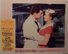 Wake Me When Its Over (Original Lobby Card   #3) Movie Poster