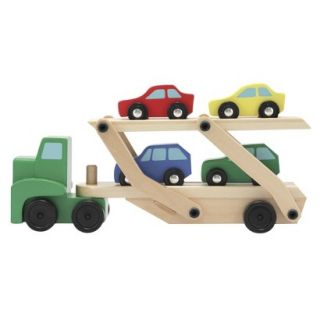 Melissa & Doug Semi Truck Car Carrier