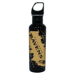 NFL Baltimare Ravens Water Bottle   Black (26 oz.)