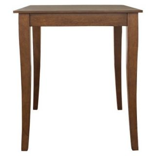 Dining Table Crosley Cabriole Leg Pub Table Set   Red Brown (Cherry)
