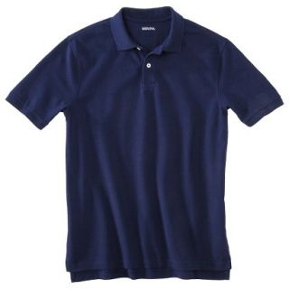 Mens Classic Fit Polo Shirt Navy Blue Vyg XXXLT