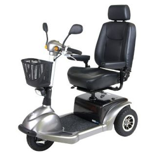 Prowler 3310 3 Wheel Full Size Scooter   20 Captain s Seat, Metallic Gray