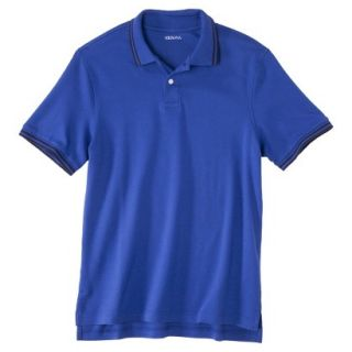 Mens Classic Fit Polo Shirt BLUE STREAK L