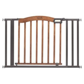 Summer Infant Decorative Wood & Metal 5 Foot Pressure Mounted Gate