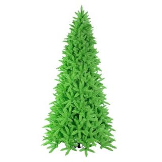 9 Pre Lit Chartruese Ashley Tree   Clear Lights