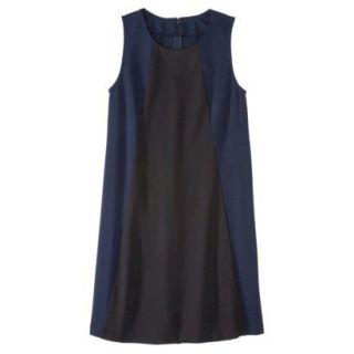 Mossimo Womens Colorblock Shift Dress   Xavier Navy/Black L