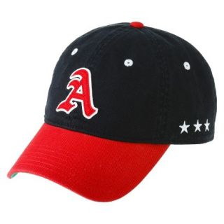 Mens Red and Black A Baseball Hat