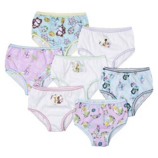 Disney Fairies Toddler Girls 7 Pack Brief Set   Assorted 2T/3T