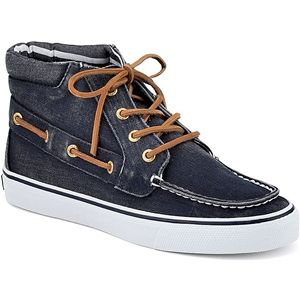 Sperry Top Sider Womens Betty Navy Boots, Size 6.5 M   9256413