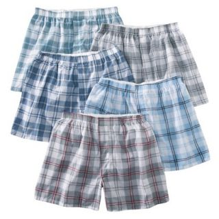 Fruit of the Loom Mens Boxers 5 Pack   Heather XXL