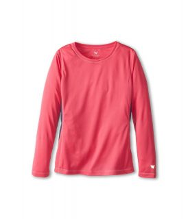 White Sierra Sun Buster Tee Womens Long Sleeve Pullover (Pink)