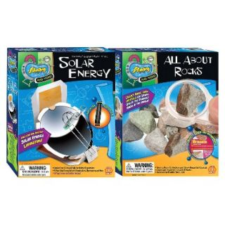 Alex Brands Scientific Explorer 03005 Solar Energy/All About Rocks Combo Pack