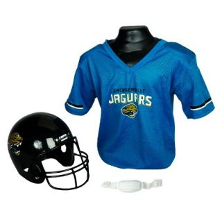 Franklin Sports NFL Jaguars Helmet/Jersey set  OSFM ages 5 9