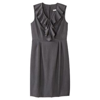 Merona Petites Sleeveless Sheath Dress   Gray 14P
