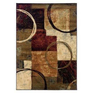 Contemporary Halo Area Rug (8x11)