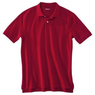 Mens Classic Fit Polo Shirt Carmen Red XXL Ta