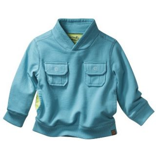 Genuine Kids from OshKosh Infant Toddler Boys Sweatshirt   Teal 12 M