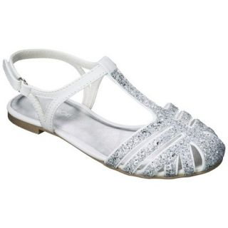 Girls Cherokee Fara Sandals   White 4