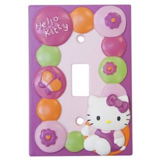 Hello Kitty Garden Switch Plate Cover