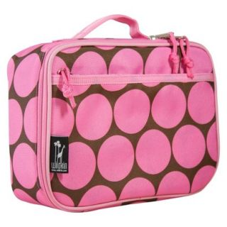 Wildkin Big Dots Lunch Box   Pink
