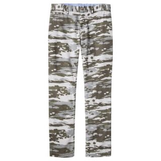 Mossimo Supply Co. Mens Slim Fit Chino Pants   Mesa Gray Camouflage 40x32