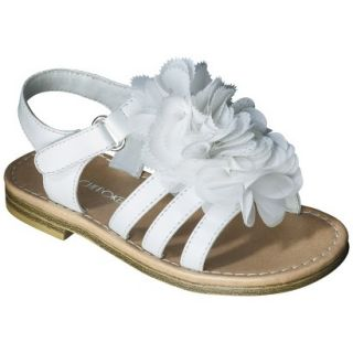 Toddler Girls Cherokee Joslyn Sandal   White 10
