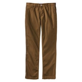 Mossimo Supply Co. Mens Slim Fit Chino Pants   Gilded Brown 42x32