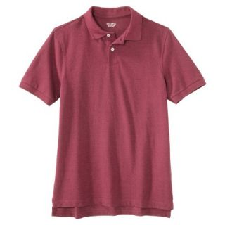 Mens Classic Fit Polo Shirt Rose Pink Red Essence M