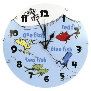 Dr. Seuss One Fish Two Fish Clock