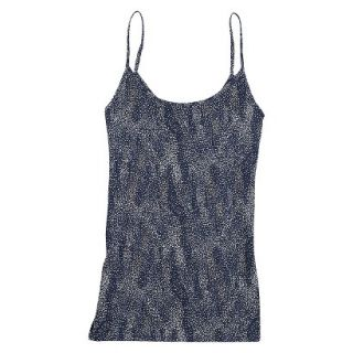 JKY by Jockey Womens Microfiber Stretch Cami 5540   Navy Dot Wave S