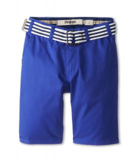 Request Kids Colbert Chino Belted Shorts Boys Shorts (Blue)