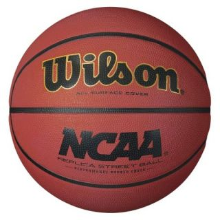 Wilson NCAA Replica Street Basketball   Orange