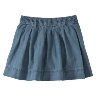 Burts Bees Baby Toddler Girls Skort   Chambray 4T