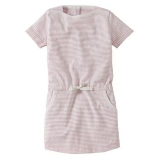 Burts Bees Baby Toddler Girls Boatneck Dress   Blush 2T
