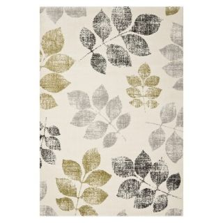 Safavieh Botanical Area Rug   Ivory/Green (53x77)
