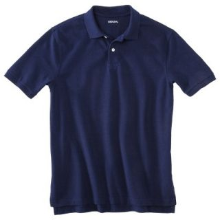 Mens Classic Fit Polo Shirt Navy Blue Vyg M