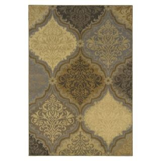 Royal Area Rug   Gold/Gray (53x76)