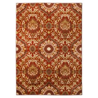 Threshold Medallion Area Rug   Red (5x7)