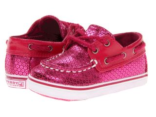 Sperry Top Sider Kids Bahama Crib Girls Shoes (Pink)