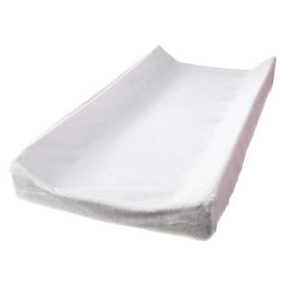 Pink Ruche Changing Pad Cover