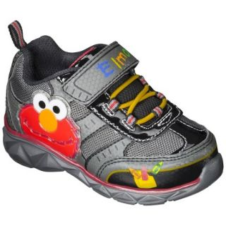 Toddler Boys Sesame Street Elmo Sneakers   Black 10