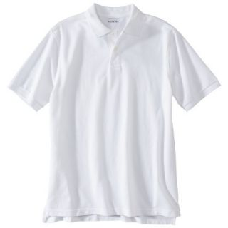 Mens Classic Fit Polo Shirt White LT
